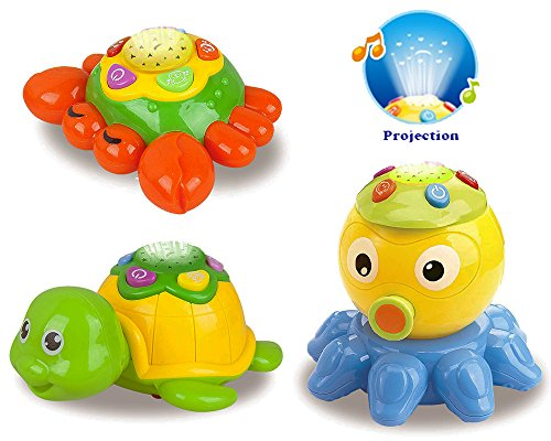 Musical Projectors Interactive Toddlers Octopus