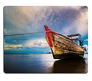 Mouse Pad Natural Rubber Mousepad IMAGE ID: 23330506 The boat
