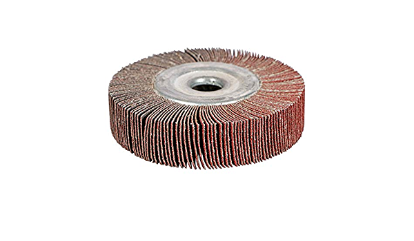 120 Grit BHA Unmounted Flap Wheel for Bench Grinder 6 x 1-1//2 x 1