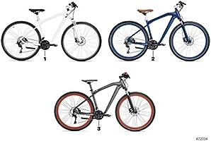 BMW Cruise M Bike - Bicicleta en color antracita y rojo, mate ...
