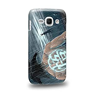 Case88 Premium Designs Dragon Ball Z GT AF Son Goku Son Goku VS Carcasa/Funda dura para el Samsung Galaxy Ace 3