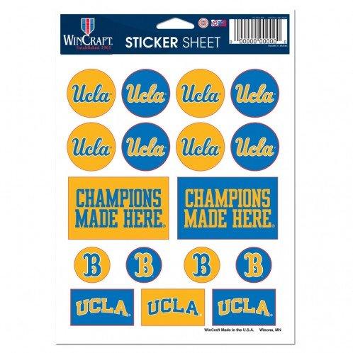 UCLA VINYL STICKER SHEET 5