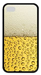 iphone 4 cases popular Yellow water droplets TPU Black for Apple iPhone 4/4S