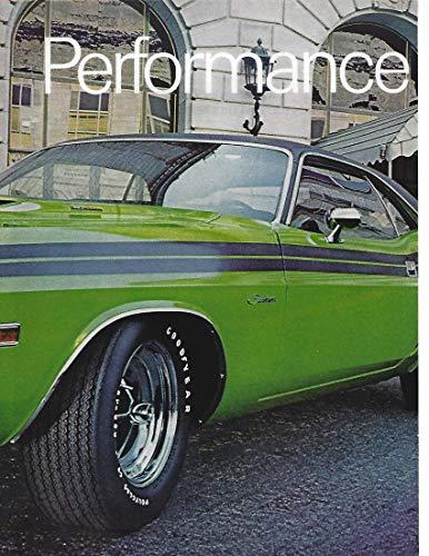 1971 Original Magazine Print Ad #1 Goodyear Tires featuring Dodge Challenger JUMBO COLOR AD