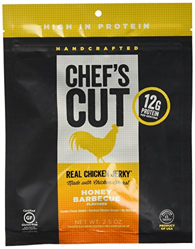 Beef Bbq Honey (Chef's Cut Real Chicken Jerky Honey Barbeque,2.5OZ (Pack of 8))