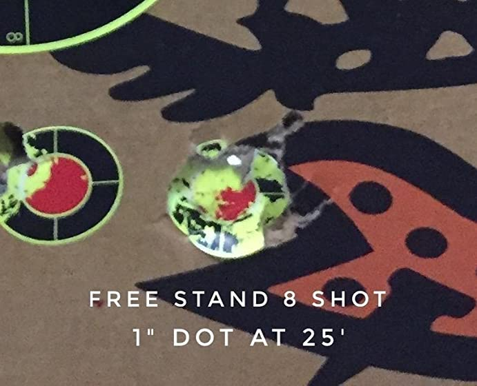 S&W M&P 45 .177 Caliber BB/Pellet Airgun Pistol Update 10-19 Tight groups - 80 To 96 Shots