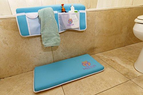 Baby Soft Baby Bath Kneeler and Elbow Rest Bundle Premium Cushioned ...