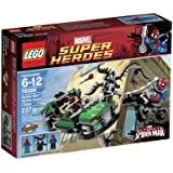 LEGO Super Heroes Spider-Cycle Chase 76004 (Discontinued by manufacturer)
