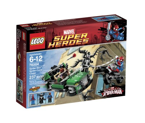 LEGO Super Heroes Spider-Cycle Chase 76004