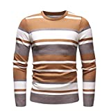 Shirts For Men Charberry Autumn Winter Sweater Pullover Slim Jumper Knitwear Long Sleeve Blouse
