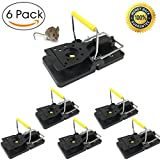 Buyplus Mouse Traps - Snap Mouse Trap, Mice Trap, Metal Clip Power Rodent Killer(6 Pack), Sensitive Reusable and Durable(6 Pack)