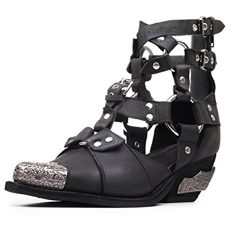 Jeffrey Campbell Temeku 2, Cuir Wshed, Chausson De Quincaillerie