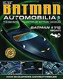 DC BATMAN AUTOMOBILIA FIGURINE COLLECTION MAGAZINE #56 BATMAN #112 BOAT by Eaglemoss Publications