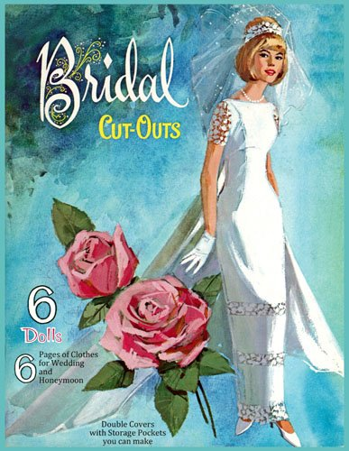 Bridal Cut-Outs, Restored Paper Doll Book