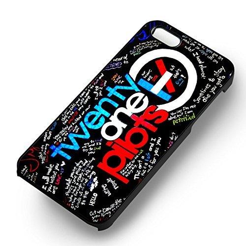 Twenty One Pilots Collage pour Coque Iphone 6 et Coque Iphone 6s Case (Noir Boîtier en plastique dur) R3Y5NO