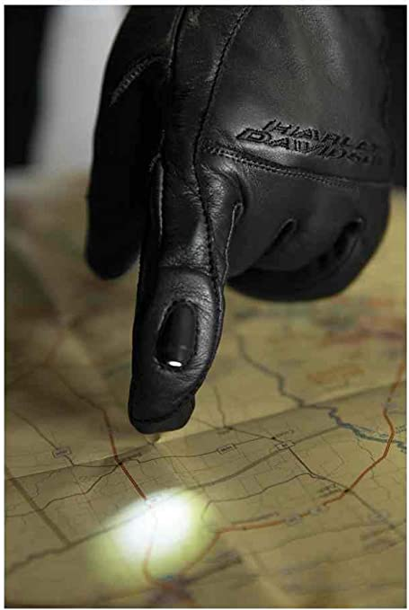 Harley-Davidson Men/'s Lambent LED Gloves 98352-17VM