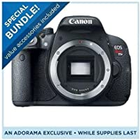 Canon Canon EOS Rebel T5i DSLR Camera, Body Only - Special Promotional Bundle