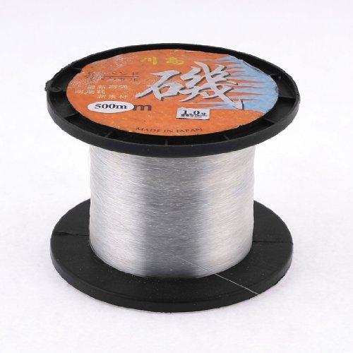 1.0 # Effacer fil de nylon 0.16mm Dia 5,5 kg Ligne de pêche Spool 500M DealMux