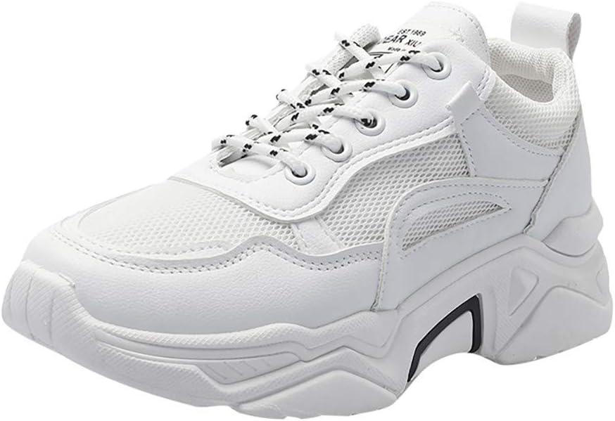 Corbata Mujer Moda Salvaje Zapatos Casuales Ata para Arriba a ...