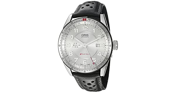 c17078750 Oris Men's 'Audi' Swiss Automatic Stainless Steel and Leather Watch, Black  (Model: 74777014461LS): Oris: Amazon.ca: Watches