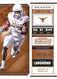 2018 Panini Contenders Draft Picks Season Ticket #36 D'Onta Foreman Texas Longhorns Football Card