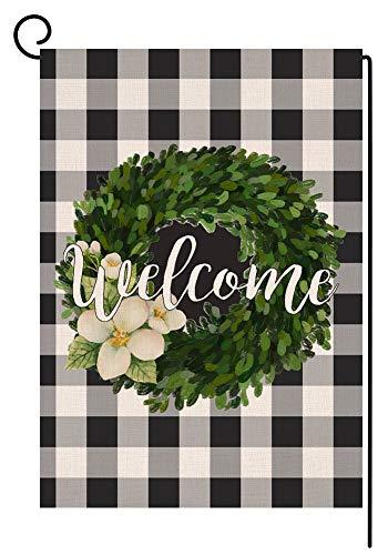 BLKWHT 142849 Welcome Buffalo