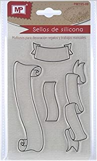 MP PM195-09 - Sellos para scrapbooking, transparente