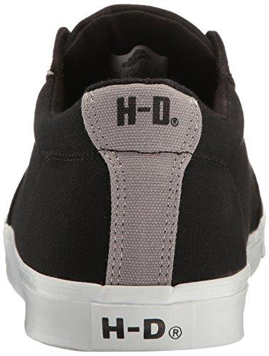 Harley-davidson Mens Ellis Mode Sneaker Noir / Blanc