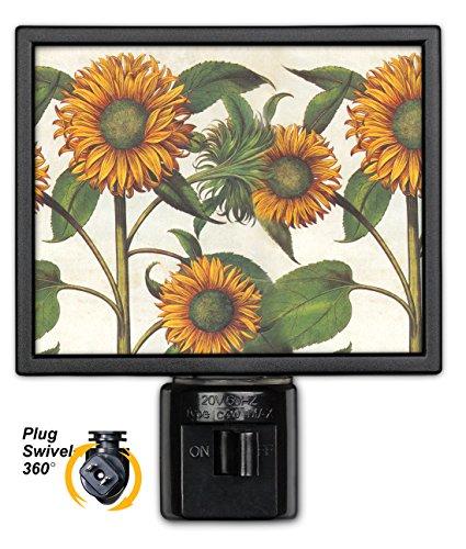 Art Plates NL-140 Sunflowers Night Light