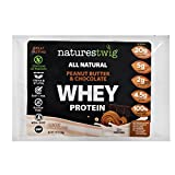 Cheap NaturesTwig All Natural Whey Protein (Kosher- Cholov Yisroel) Sample Pack (Peanut Butter & Chocolate)