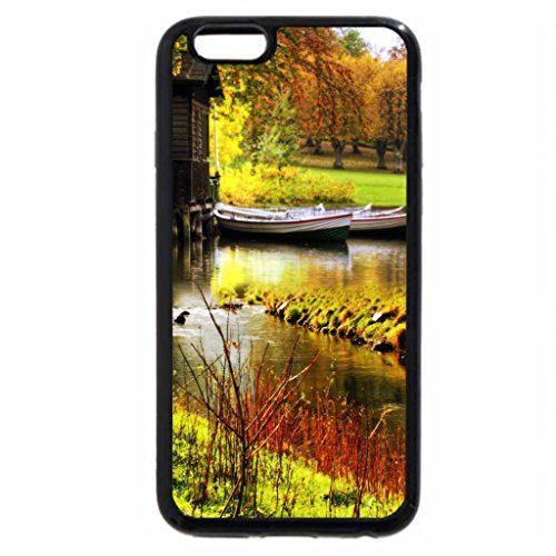 iPhone 6S / iPhone 6 Case (Black) House on Lake