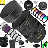 Nikon PC-E Micro-NIKKOR 85mm f/2.8D Tilt-Shift Lens with Creative Filter Kit and Pro Cleaning Accessories