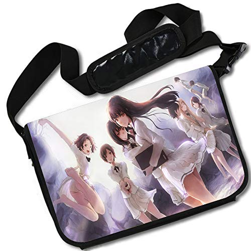ROUNDMEUP Kara no Shoujo Anime Stylish Messenger Bag//Lap Top Bag Inches 15 x 11 MB Kara no Shoujo-3