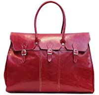 Floto Lugano Leather Duffle Bag from Floto