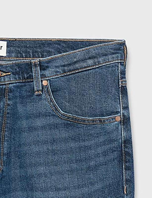 Wrangler Męskie dżinsy Arizona Straight: Odzież