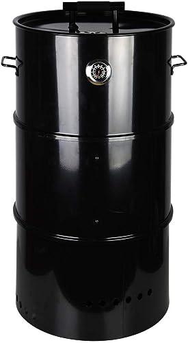 Esschert Design Barrel Smoker, Black – Large