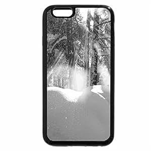 iPhone 6S Case, iPhone 6 Case (Black & White) - Winter sun