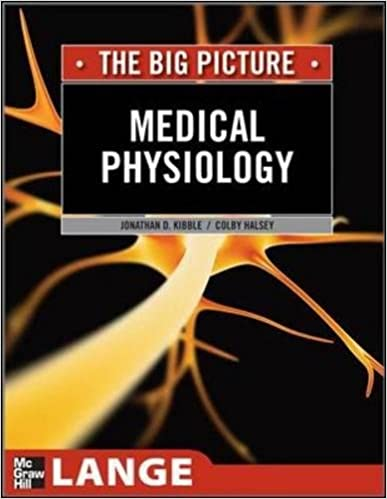 Medical Physiology: The Big Picture (LANGE The Big Picture