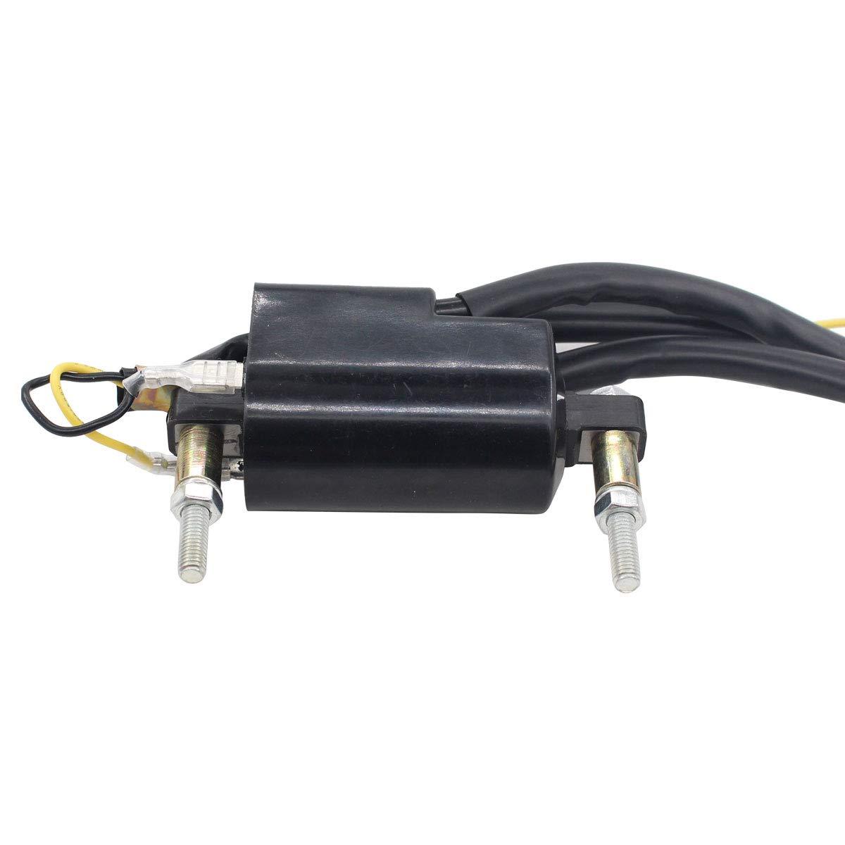 MOTOKU Pack of 2 12V Ignition Coil for Suzuki GSXR750 GSXR600 GS1100 GS750 Bandit 1200 Kawasaki Zephyr ZR550B ZZR1200 ZZR600 ZRX1100 Z1000