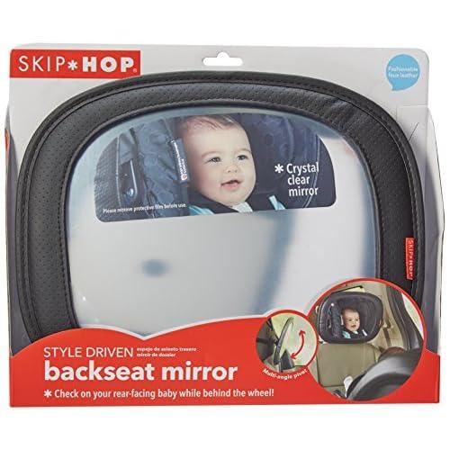 Black Skip Hop Style Driven Backseat Baby Car Mirror
