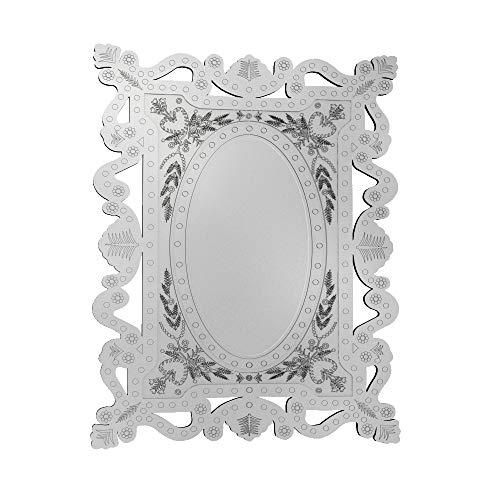 Quadro Espelho Decorativo Veneziano Sala Quarto 3896