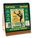 Oregon Ducks 2015 Easel Desktop Vintage Football Calendar by