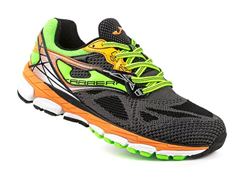 Joma - Carrera, color amarillo,negro, talla UK-7