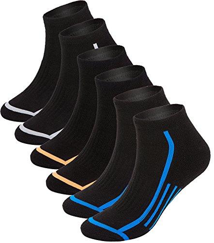 Quarter 6 Pack Athletic Socks - 8