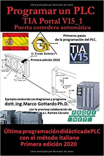 Programar un PLC Primer paso en TIA Portal V15: Puerta corredera ...