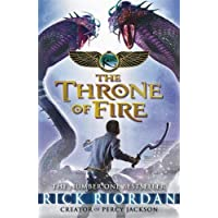 The Kane Chronicles: the Throne of Fire by Rick Riordan (2012)