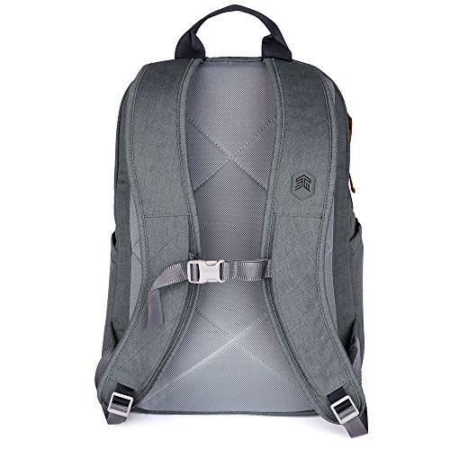 STM Banks Backpack For Laptop & Tablet Up To 15'' - Tornado Grey (stm-111-148P-20) by STM (Image #6)