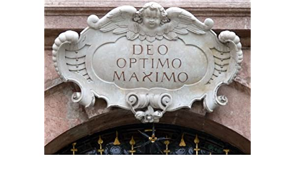 Amazon Com D O M Deo Optimo Maximo Italian Edition Ebook