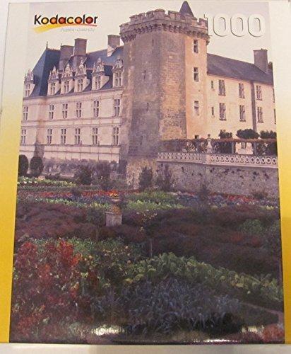 (Kodaclor Villandry Chateau France 1000 puzzle 18 15/16 x 26 3/4)