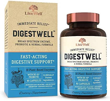 DigestWell Immediate Relief Fast Acting Digestive